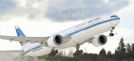 A CGI of a Kuwait Airways Boeing 777-300ER. Boeing Image.