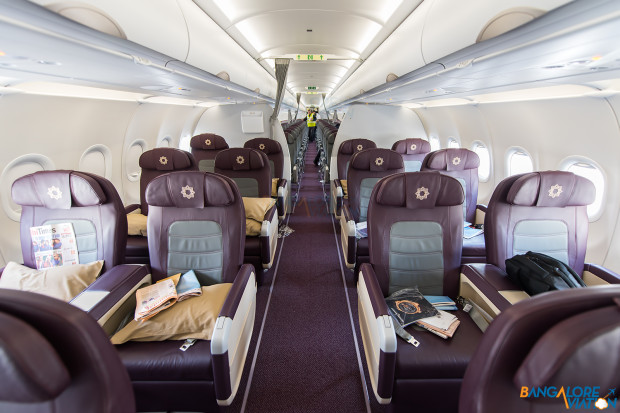 Vistara A320-200 Business Class Cabin