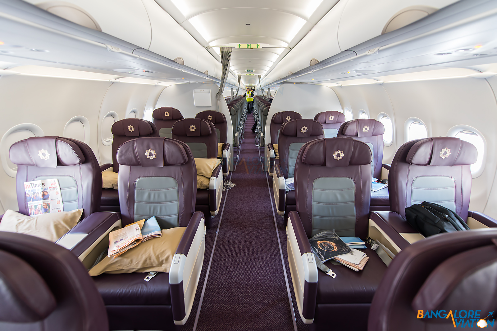 Inflight Review Tata Sia Vistara Premium Economy A320