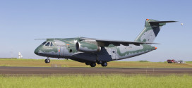 Embraer KC-390 - Maiden Flight. Embraer Image.