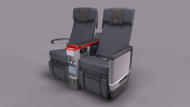 Singapore Airlines Premium Economy class seats