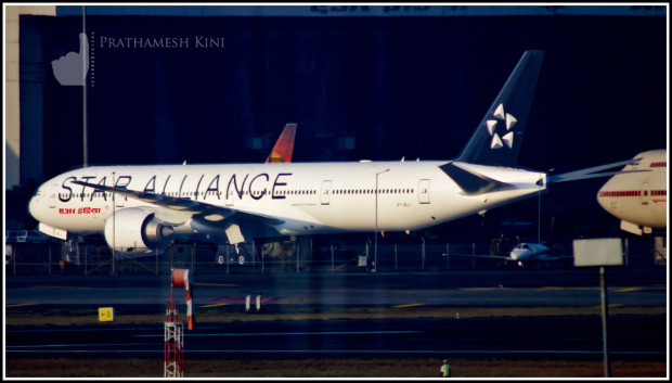 Air India Boeing 777-300ER VT-ALJ Bihar in special Star Alliance livery