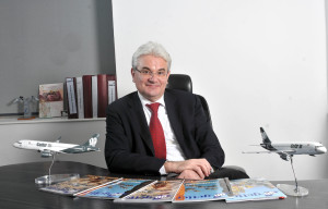 GoAir CEO Giorgio De Roni. Airline image.
