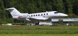 Pilatus PC-24 takes off for it's maiden flight. Pilatus Image.