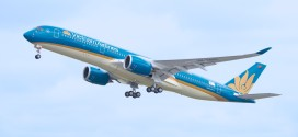 Vietnam Airlines A350-900 first flight.