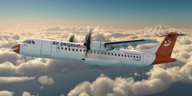 Air Pegasus ATR. Courtesy the airline.