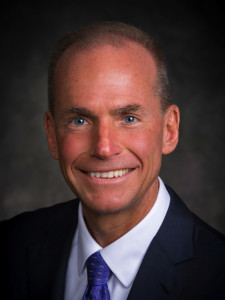 Dennis Muilenburg, Boeing, CEO, from July 1, 2015. Boeing image.