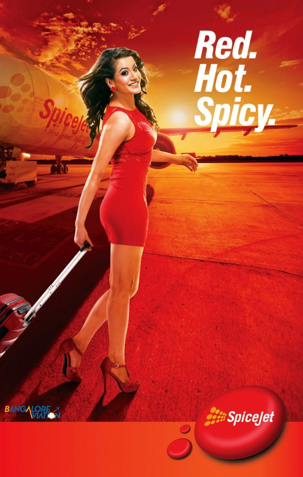 SpiceJet's new sexy 'Red Hot Spicy' branding