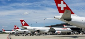 SWISS ramp at Zurich airport. Photo by and copyright Devesh Agarwal.