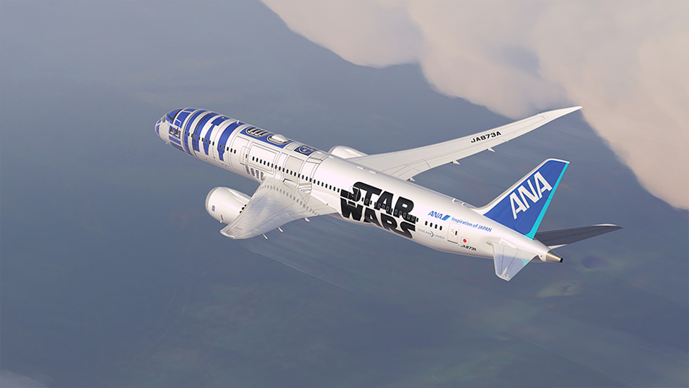 Ana Unveils Two New Star Wars Jets Bangalore Aviation