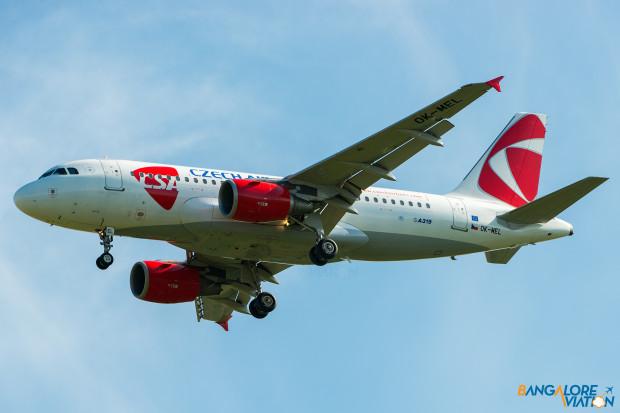 CSA - Czech Airlines Airbus A319 OK-MEL.