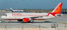 Air India Airbus A320 VT-EXC.