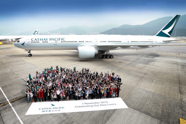 Cathay Pacific Boeing 777-300ER B-KPM.