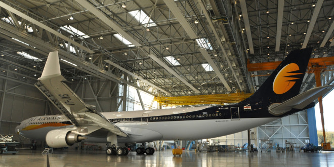 Jet Airways Airbus A330-300. Image courtesy Jet.