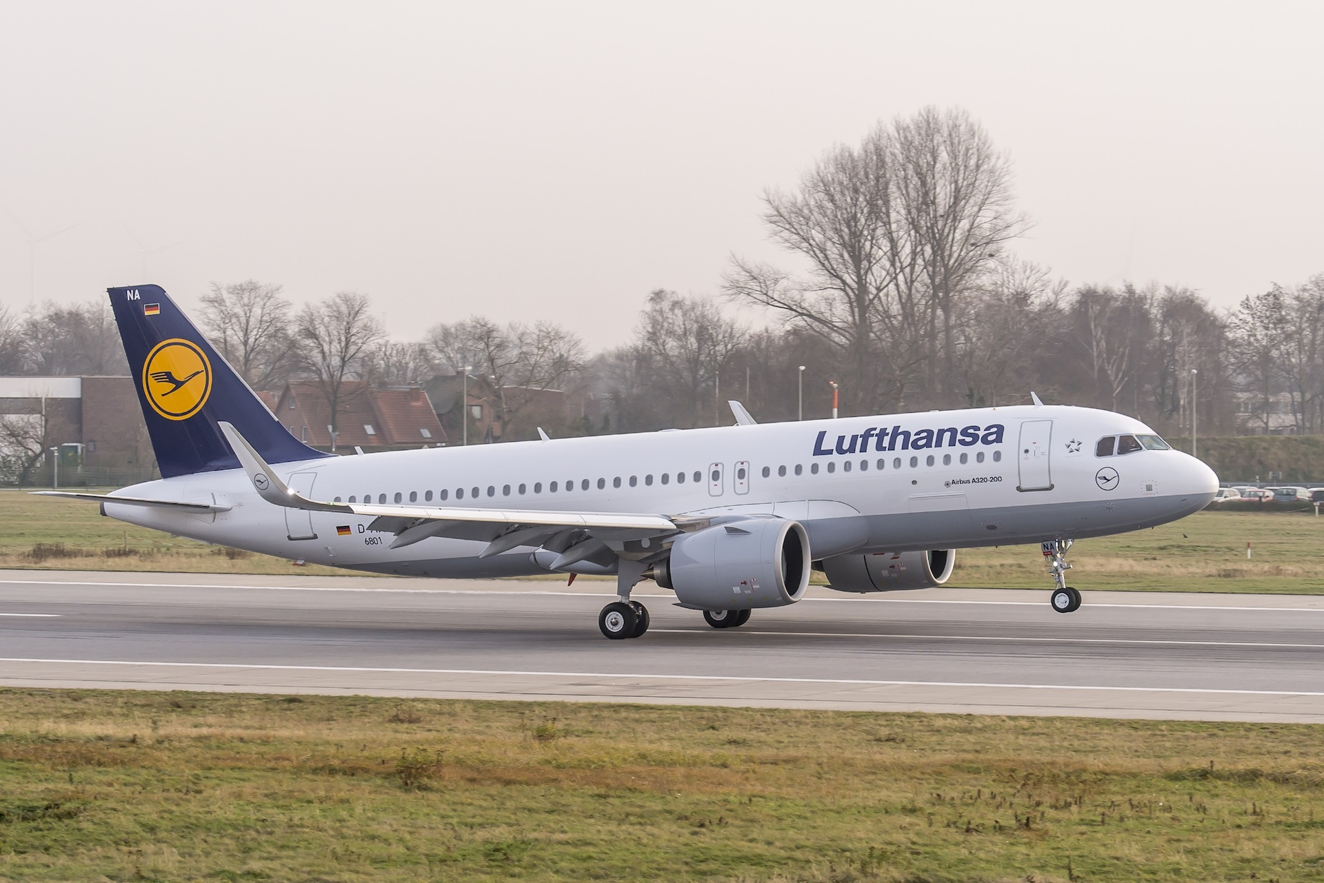 Lufthansa Airbus A320neo D-AINA. Photo courtesy the airline.