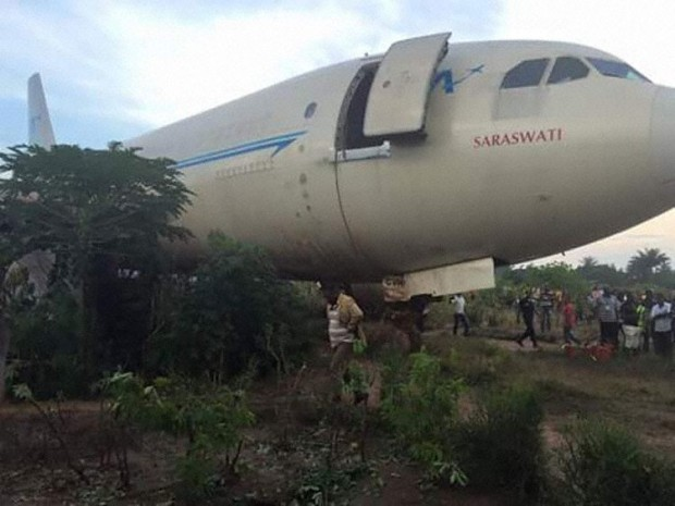 Services Air Airbus A310-304F 9Q-CVH. Former Air India VT-EJI Saraswati crash at Mbuji Mayi. Image courtesy Aviation Herald.