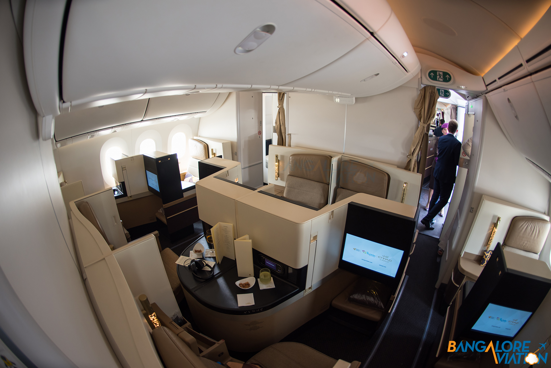 Business Cl Cabin On Etihad S Boeing 787 9