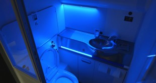 Boeing self cleaning toilet prototype. Boeing image.