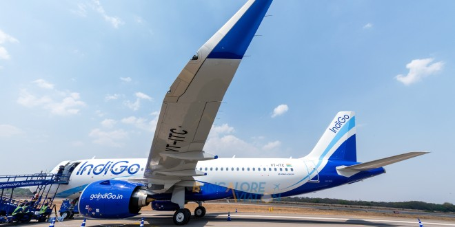 Indigo Airbus A320neo VT-ITC. Copyrighted image. Re-use prohibited.