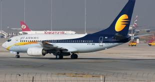 Jet Airways Boeing 737-700 VT-JNS at Bengaluru Kempegowda airport