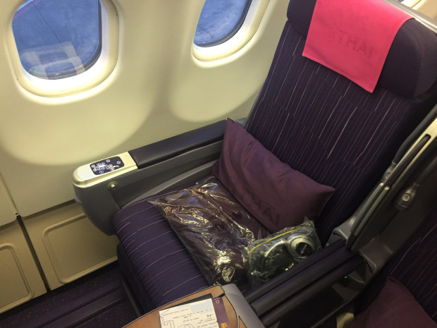 Seat 14K. Thai Airways. Airbus A330-300.