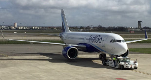 IndiGo's first A320neo. MSN6799. VT-ITC. Photo courtesy the airline.