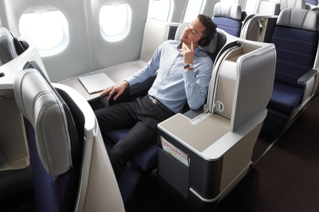 Malaysia Airlines new A330 business class