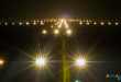 Runway 28 at Indira Gandhi International Airport at night. Image copyright Vedant Agarwal.
