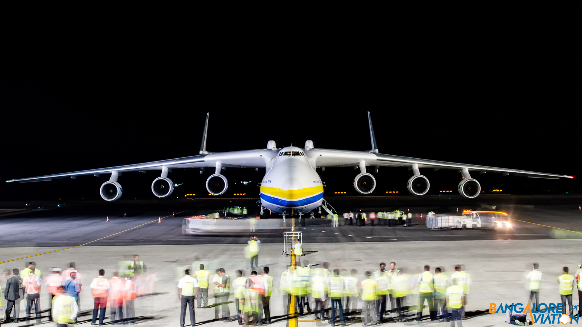 Exclusive Photos Antonov An 225 At Hyderabad Bangalore