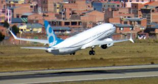 Boeing 737 MAX 8 performs high altitude testing at La Paz, Bolivia