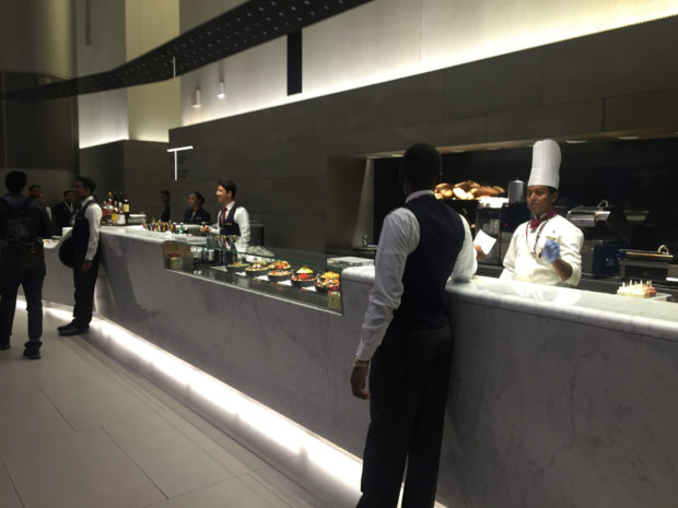 The Deli in the lounge.