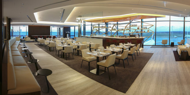 Etihad Airways' new premium lounge at Melbourne airport. Airline image