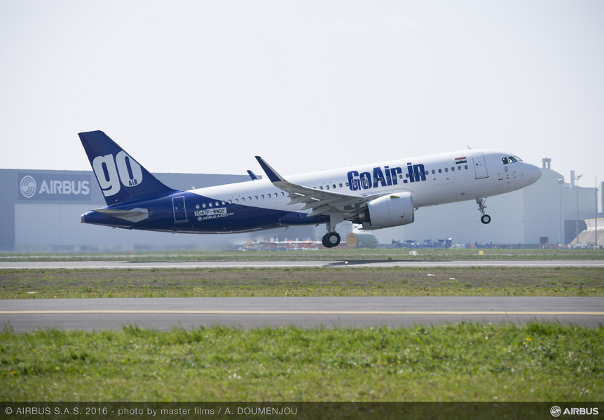 GoAir takes delivery of its first A320neo  Qualifies for