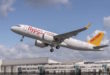Turkey's Pegasus Airlines takes delivery of the first CFM LEAP 1-A powered A320neo. Airbus photo.