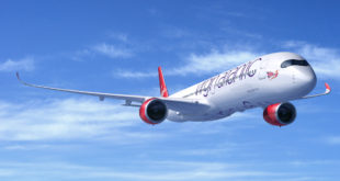 Airbus CGI of Virgin Atlantic A350-1000.