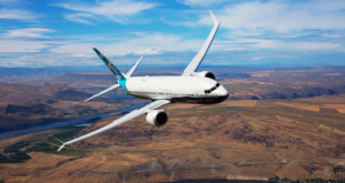 Boeing 737-8 MAX flight demonstration practice Moses Lake Washington