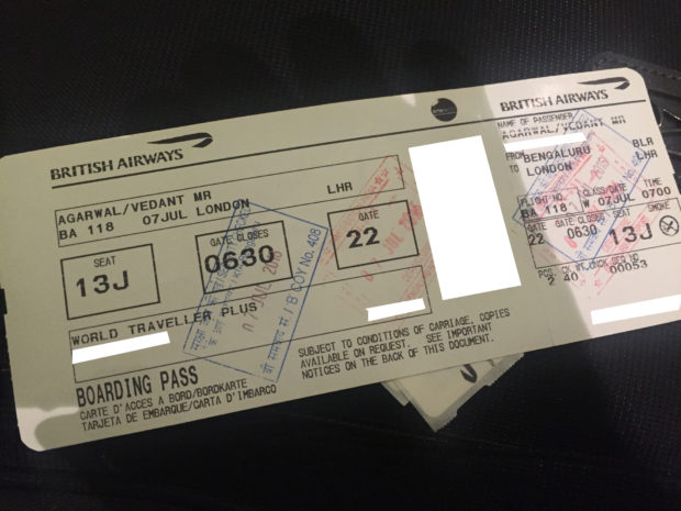 British-Airways-Premium-Economy-BLR-LHR - 2