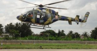 First flight of the HAL Light Utility Helicopter. HAL Image.