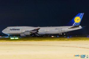 Lufthansa D-ABYJ Boeing 747-8i.