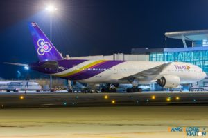 Thai Airways HS-TJH Boeing 777-200.