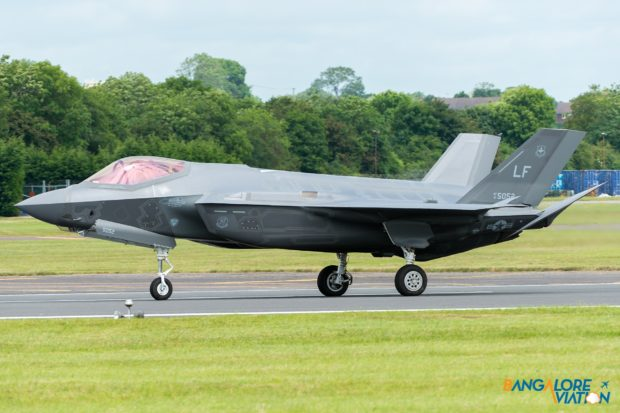United States Air Force Lockheed Martin F-35A Lightning II 12-5052.
