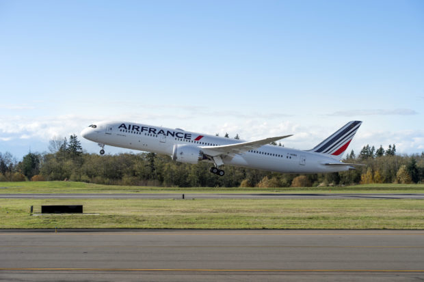 Air France F-HRBA Boeing 787-9. Boeing Image.