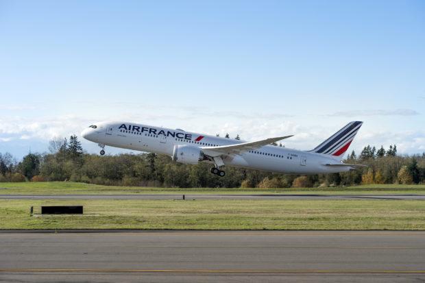 Air France F-HRBA Boeing 787-9. Boeing Image.