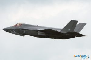 Royal Air Force F-35B ZM137.