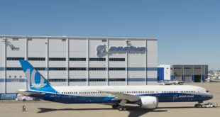 The Boeing 787-10 rolled out at Boeing South Carolina. Boeing Image.