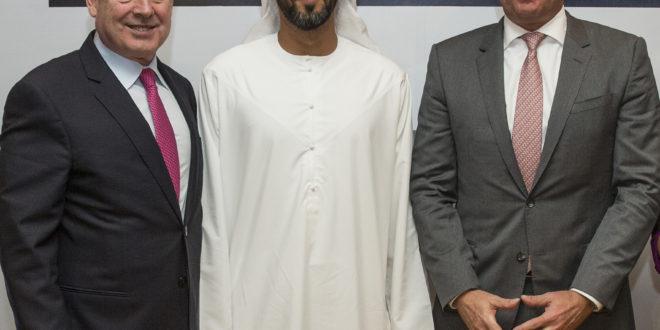 James Hogan, President & CEO Etihad Aviation Group, H.E. Mohamed Mubarak Fadhel Al Mazrouei, Chairman Etihad Aviation Group and Carsten Spohr, Chairman & CEO Lufthansa Group