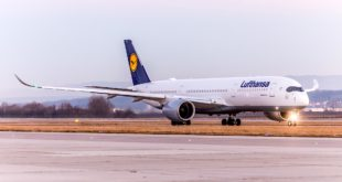 Lufthansa A350-900. Image courtesy airline.