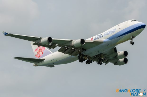 China Airlines Cargo Boeing 747-400F B-18701