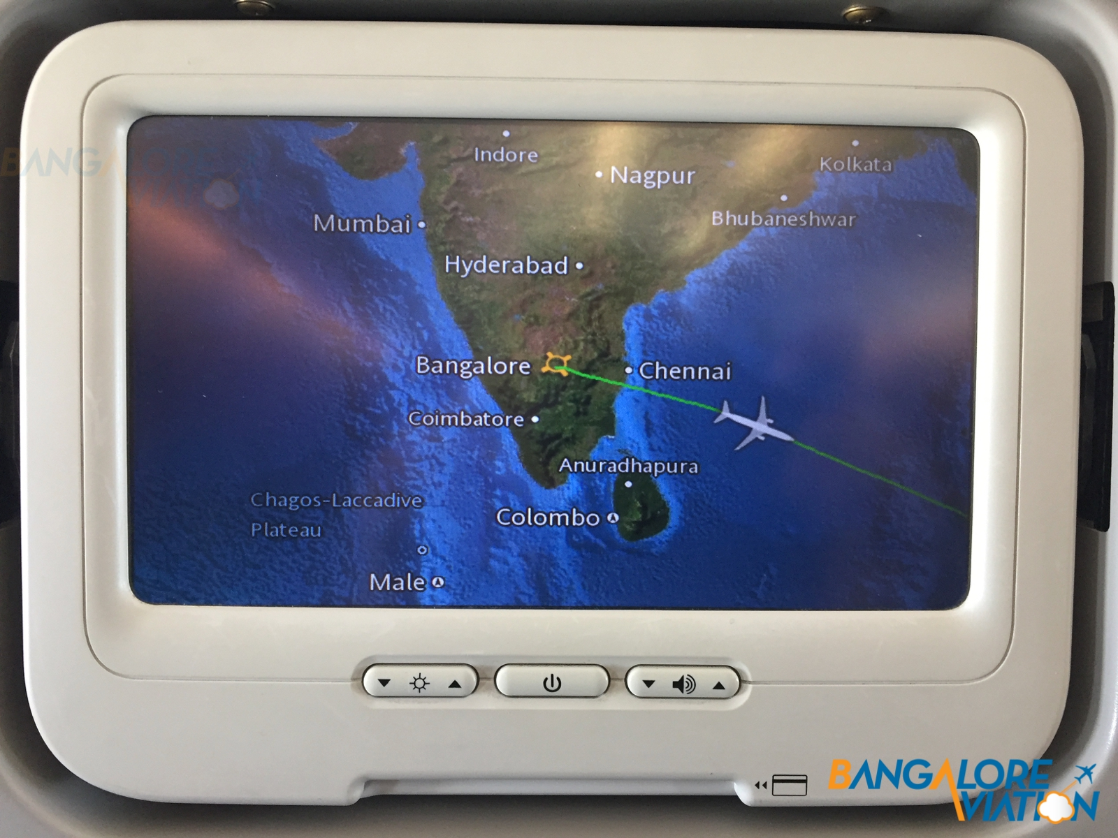 Inflight Review: Malaysia Airlines: Economy: 737-800: Bangalore ...