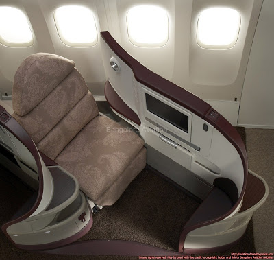 Jet Airways Boeing 777-300ER business class